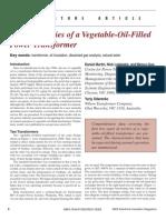 FR3 Further Studies of a Vegetable-Oil-Filled