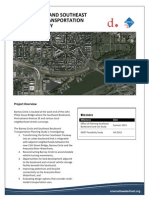 Barney Circle Southeast Boulevard Project Fact Sheet