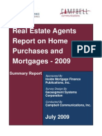 Real Estate Agent Survey June 2009