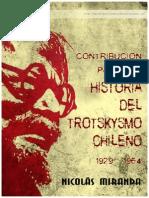 Nico Miranda Contribucion Historial Trotskysmo Chileno 1929 1964