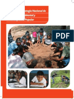 Política y Estrategia Nacional de Educación Ambiental