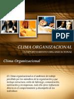 Clase Clima Organizacional