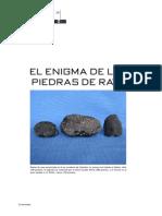 Piedras de Rayo Encontradas en El Sur Occidente de Colombia