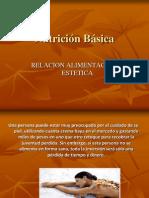 Relacion Alim y Estetica-Nutricion Basica