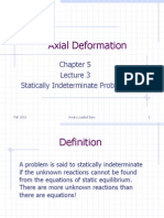 axial deformation