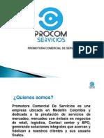 Presentacion Promotora Comercial de Servicio Contact Center
