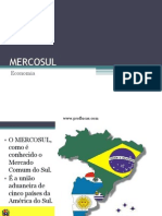 Aula 15 - Mercosul
