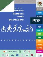 Glosario Terminos Sobre Discapacidad