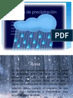 Tipos de Precipitacion