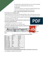 Statistics/ Report / Paper by AssignmentLab.com