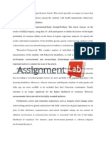 Students With Health Impairments/ Essay / Paper by AssignmentLab.com