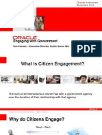 Citizen Engagement and Connected Gov - Tom Petrash