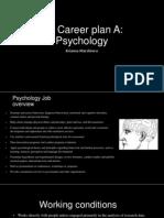 my career plan slide