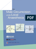 Who Mc Local Anaesthesia
