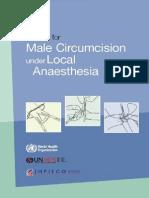 Who Mc Local Anaesthesia