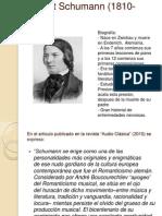 Robert Schumann (1810-1856)