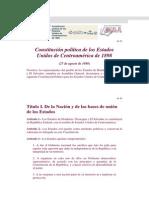 Constitucion de 1898