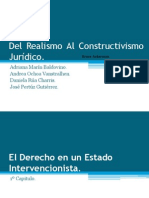 Del Realismo Al Constructivismo Jurídico