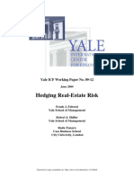 Hedging Real-Estate Risk