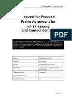 RFP - IP Telephony & Contact Center v1