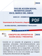 8.DISPOSITIVO DE ACCIÓN SOCIAL Y PREVENTIVA(1)