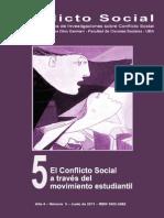 Conflicto Social (Revista del Programa de Investigaciones sobre Conflicto Social) - A+¦o 4, N-¦ 5, Junio 2011