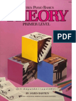 James Bastien - Piano Basics Theory Primer Level.pdf