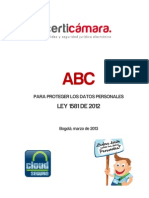 Cartilla El ABC de La Proteccion de Datos Certicamara SA
