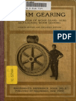 Worn Gearing - Ralph e Flanders Book No. 1
