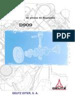 CATALOGO DE PEÇAS D909