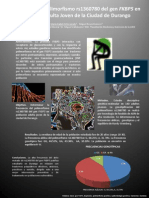 Frecuencia Del Polimorfismo rs1360780 Del Gen FKBP5 en Población Adulta Joven de la Ciudad de Durango