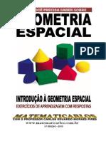 Introducao a Geometria Espacial - Exercicios de Aprendizagem - Respostas
