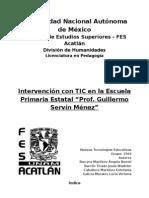 Proyecto de Intervención con TIC