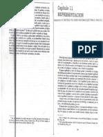 Sartori, Giovanni - La Representaci+¦n, en Elementos de Teor+¡a Pol+¡tica - Alianza Editorial, Madrid, 1994 (pp. 225-242)