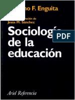 63530137 Sociologia de La Educacion