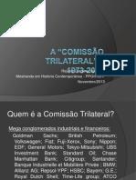 Aula Comissão Trilateral