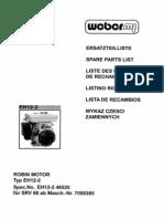 Catalogo de Partes EH 12-2 for SRV66(1)