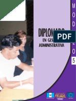Diplomado en Gestion Administrativa V
