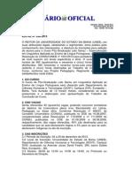 Edital 098-2013 - Pós Graduação em Letras