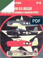 Osprey Aircam Aviation Series 19 - Grumman F6F-3-5 Hellcat in USN-USMC-FAA-Aeronavale & Uruguayan Service
