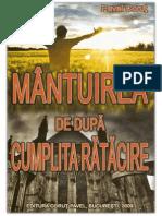 Mantuirea de Dupa Cumplita Ratacire de Pavel Corut-Corectata