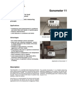 DataSheetSonometer11KatV10E0597