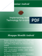 Trend Android Gunadarma 2013