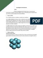 Investigación de Química