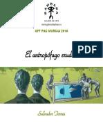 Catalogo El Antropofago Erudito