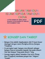 Sumbangan Tamadun Islam Kepada Tamadun China (titas uitm )