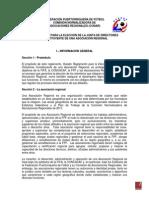 reglamento eleccio n junta directiva asoc reg - cuerpo