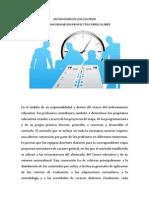 AUTONOMÍA DE LOS CENTROS Y PROYECTO CURRICULAR