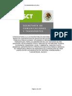 Bases_licitacion_n19_12 Analissis Factibilidad Tren Metropolitano
