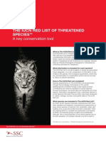 The Iucn Red List a Key Conservation Tool Factsheet En